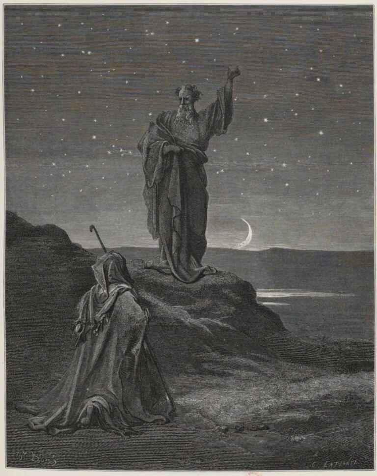 Abrahams Vocation Gustave Dore La Sainte Bible Selon La Vulgate