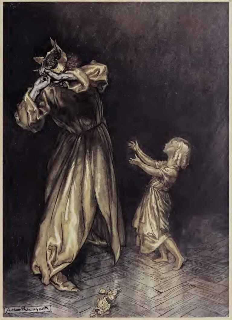 King Midas The Golden Touch Arthur Rackham A Wonder Book 2