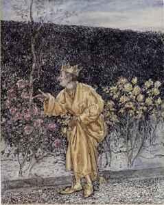 King Midas The Golden Touch Arthur Rackham A Wonder Book