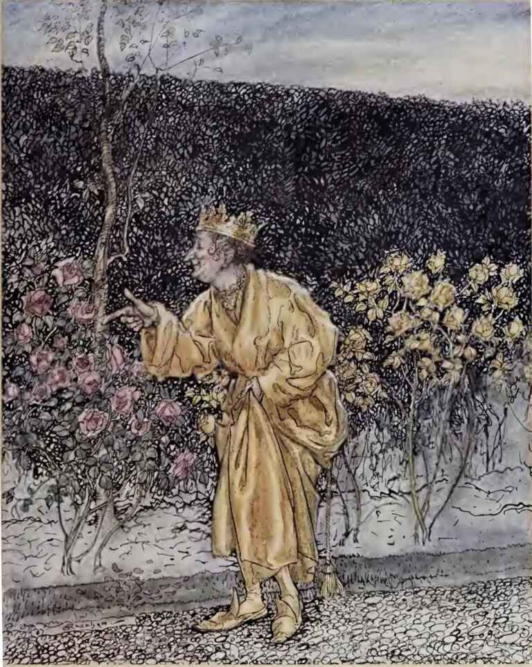 King Midas The Golden Touch Arthur Rackham A Wonder Book