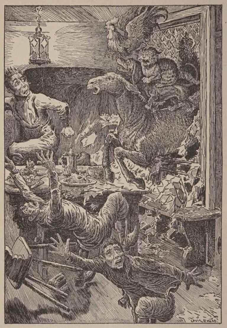 The Bremen Town Musicians Louis Rhead The Fairy Book