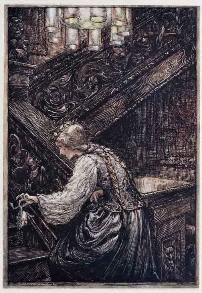 The Frog King And Iron Henry Arthur Rackham Hansel And Gretel Grimm