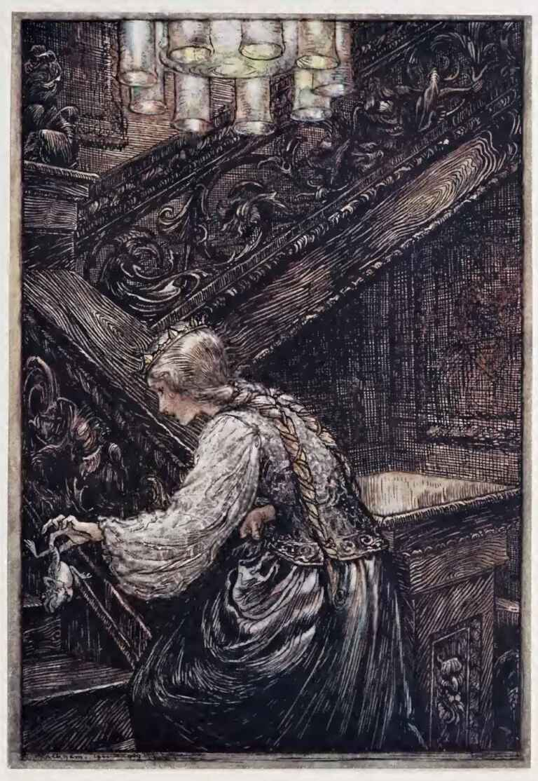 The Frog King And Iron Henry Arthur Rackham Hansel And Gretel Grimm