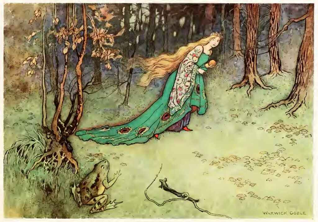 The Frog King Or Iron Henry Warwick Goble The Fairy Book